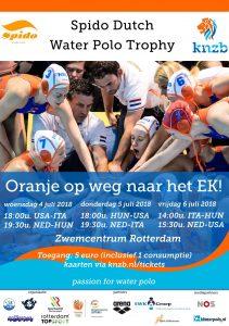 Nieuwsbrief - Spido Dutch Water Polo Trophy