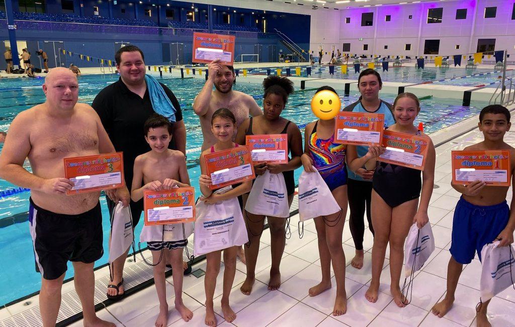 Afzwemmen Zwemvaardigheid