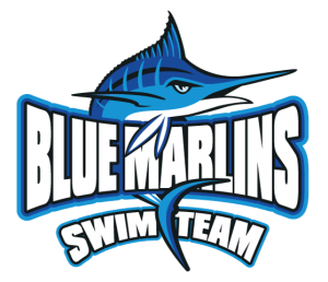 Logo Blue Marlins - Swim Team