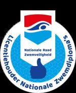 Logo Licentiehouder Nationale Zwemdiploma's